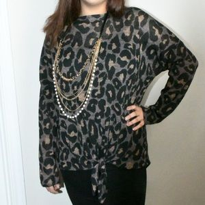 Vanessa Leopard Tunic